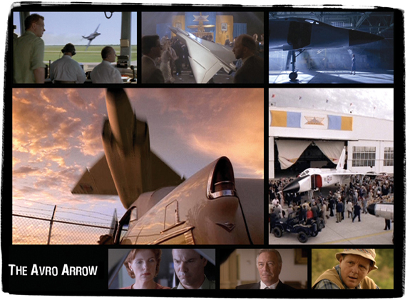 The Avro Arrow<br />  <em>TV Mini-series (shot in Manitoba) for CBC</em>