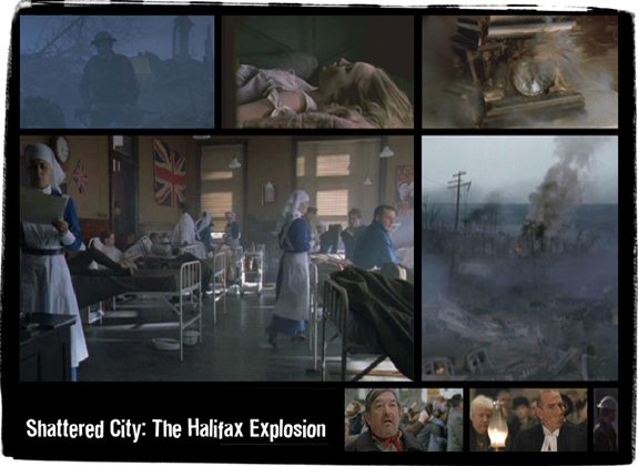 Shattered City: The Halifax Explosion<br />  <em>TV Mini-series for CBC, Salter Street Films/Tapestry Films</em>